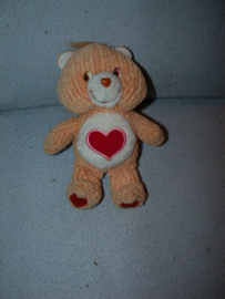 B-1338  Care Bears Troetelbeertje Hart - 21 cm