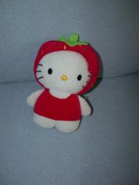KP-1260  H&M/Sanrio Hello Kitty als aardbei - 17 cm