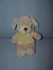 H-431  Nicotoy hond Pebbles met truitje - 29 cm