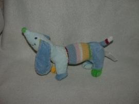 H-425  Happy Horse hond Blue Dinkey nr.1  2010 - 28 cm (zonder das en bot)