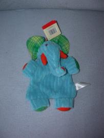 KP-1840  Gloednieuw! Evora kroeldoekje olifant