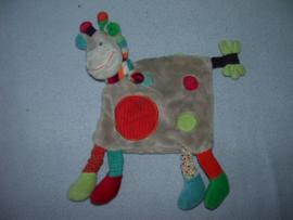 AJ-800  Nicotoy kroeldoekje giraffe Zoë