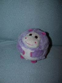 KP-1860  Ty Beanie Ballz Hippo/Nijlpaardje Dewdrop - 12 cm