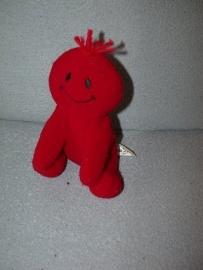 PS-01  DA/Dynaretail Daatje rood, synthetische stof