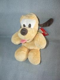 H-538  Gloednieuw! Nicotoy hondje Pluto - 28 cm