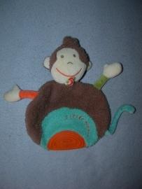 AJ-1082  Fehn kroeldoekje aap met bijtstuk