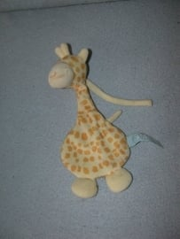 AJ-551  Hans Textiel/Baby Little Me knisperdoekje giraffe