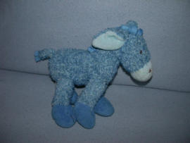 AJ-876  Happy Horse ezel Blue Donkey 2006, 26 x 26 cm