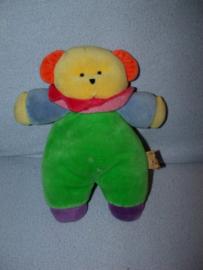 B-113  Natalis kleurenbeer - 24 cm - vlek op rug