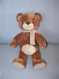 B-1707  Nicotoy beer met dasje - 40 cm
