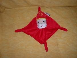 PS-907  Prenatal kroeldoekje Sinterklaas