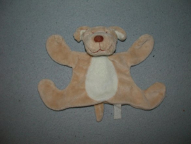 H-515  Jollybaby kroeldoekje hond - 16 cm