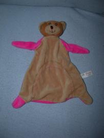 B-1611  Toi-Toys kroeldoekje beer, korte armen