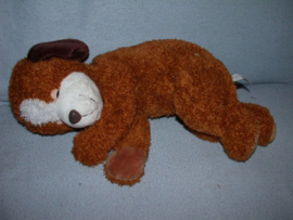 H-914  Sunkid liggende hond - 45 cm