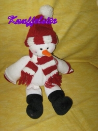 QZ-390  Tendertoys sneeuwpop - 35 cm