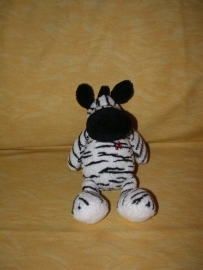 QZ-574  Nicotoy zebra - 22 cm