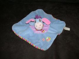 AJ-1077  Nicotoy/Disney Baby kroeldoekje ezel Iejoor - kleine beschadiging
