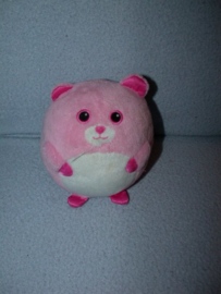 B-1881  Ty Beanie Ballz Baby Pinky Bear - 11 cm