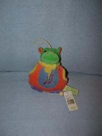 RMK-417  Gloednieuw! Happy Horse muziekdoos nijlpaard 1997