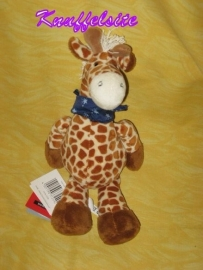AJ-562  Gloednieuw! Sigikid giraffe met halsdoek - 31 cm