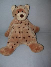 KP-181  Softtoys luipaard met stippen - 42 cm