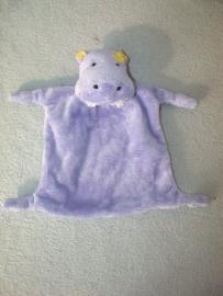 KP-387  Toys`R`Us kroeldoekje nijlpaard `Bruin`