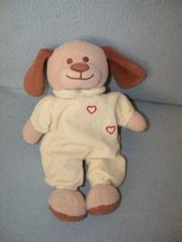 H-778  Toys hond met slobpakje - 30 cm