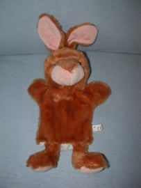 K-1217  Toi-Toys handpop konijn - 34 cm