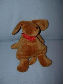 H-999  Sigikid hond Klecks met halsdoekje - 32 cm