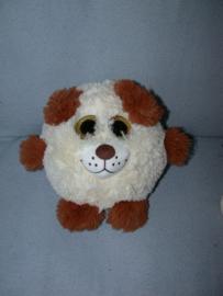 H-1004  Sunkid hond met grote ogen - 19 cm