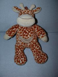AJ-1046  Nicotoy giraffe ZONDER kleintje - 31 cm