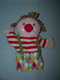 AJ-1175  Ikea handpop clown Klappar Cirkus