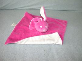 K-1120  Bambino kroeldoekje konijn, geen knoopjes