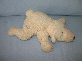 B-1675  Happy Horse liggende beer Bear 2000 - 25 cm