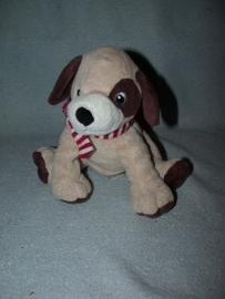H-379  H&M hondje met dasje - 19 cm