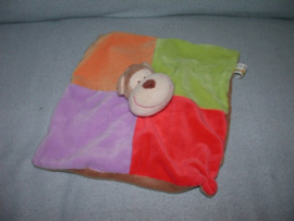 AJ-937  Eddy Toys kroeldoekje aap - geen rammel!