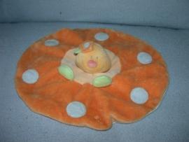 QZ-491  Jollybaby kroeldoekje schildpad Happy Garden
