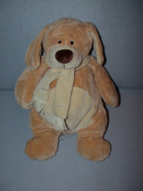 H-1038  Friendly Bears/Cuddles hond Scooter - 37 cm