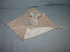 K-663  Bambino kroeldoekje konijn, beige