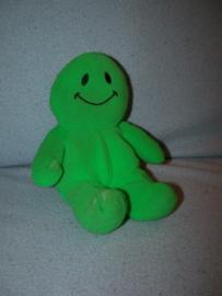 PS-79  DA Daatje groen, synthetische stof - 19 cm - geen haren!