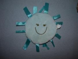PS-842  Difrax labeldoekje Sunshine Label