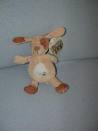 H-654  Gloednieuw! Eddy Toys hondje lichtbruin