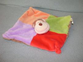 AJ-937  Eddy Toys kroeldoekje aap - geen rammel! - kleine reparatie