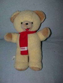 B-1555  Robijntje beer met das - 36 cm