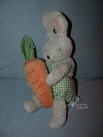 K-381  Ikea konijn met wortel - 26 cm