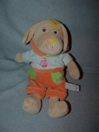 H-661  Anna Club Plush hond met kleertjes - 30 cm
