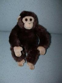 AJ-1043  WWF aapje/chimpansee - 24 cm