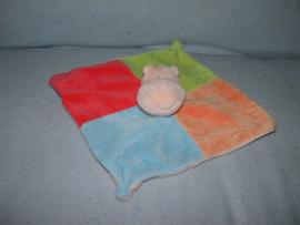 KP-1166  Eddy Toys kroeldoekje nijlpaard - geen rammel!