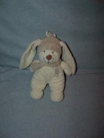K-623  Nicotoy konijntje met sjaal - 20 cm
