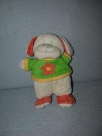 H-707 Toys hond met truitje - 24 cm